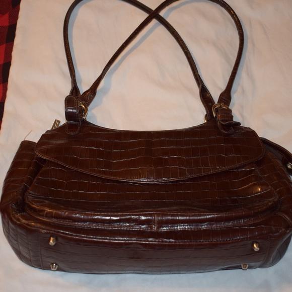 33d7ab510 Maxx New York Bags   Croc Embossed Leather Purse   Poshmark